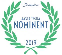 Pulmad.ee Aasta Tegija 2019 konkursi nominent